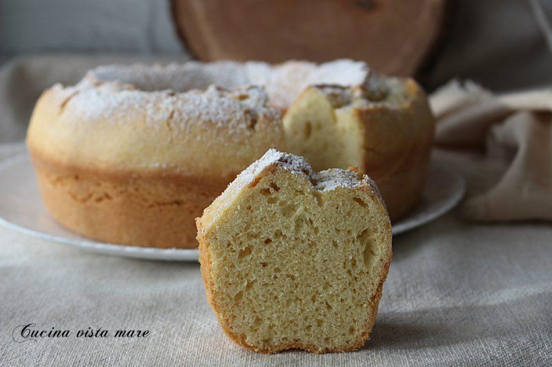 Ciambella sette cucchiai nel fornetto Versilia
