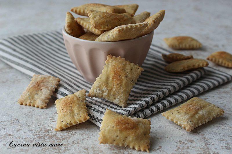 Crackers con semi di chia