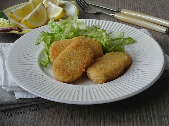 Bastoncini di pesce Cucina vista mare
