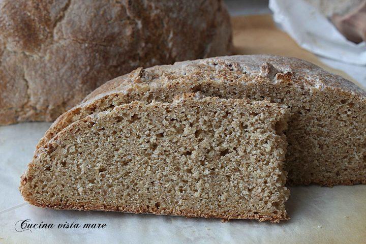 Pane di farina di grano maiorca Cucina vista mare