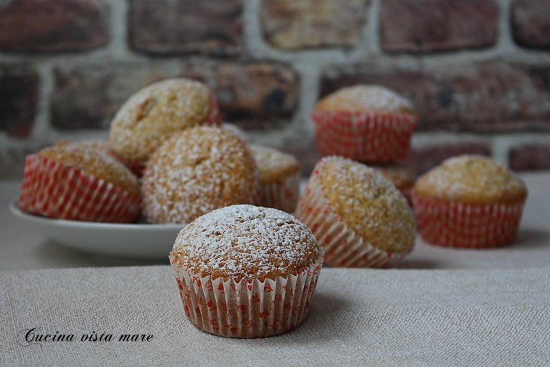 Muffin con farina di cocco