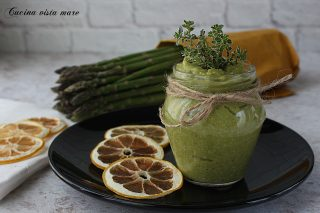 Pesto di asparagi Cucina vista mare