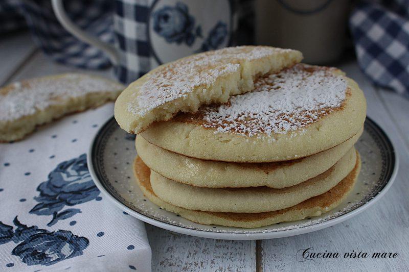 Pancakes con farina di riso