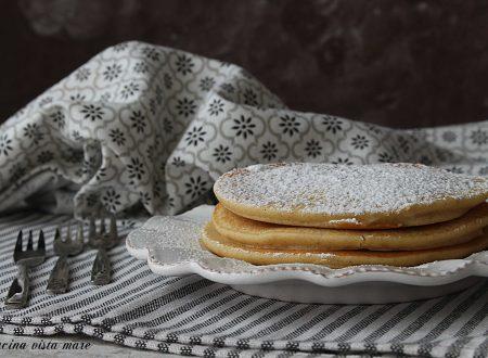 Pancakes con farina di riso integrale