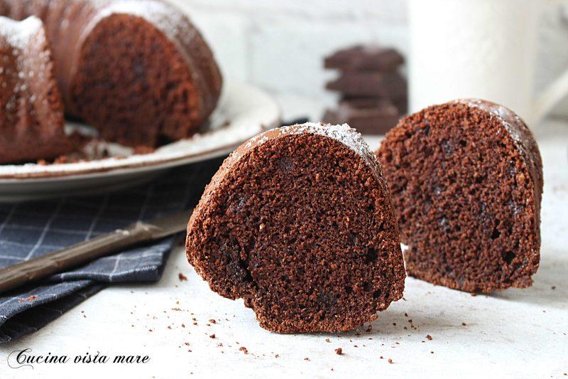 Ciambella cocco e cioccolato