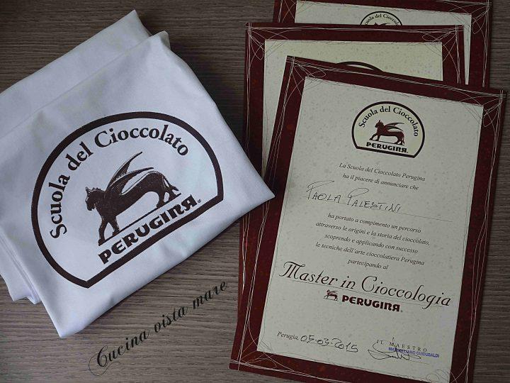La Scuola del cioccolato Perugina e i miei cioccolatini imperfetti Cucina vista mare