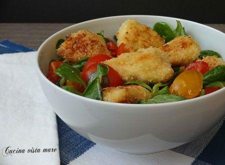 Pollo freddo in insalata