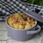 Cous cous con peperoni e patate