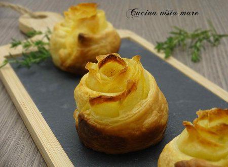Rose di patate con pasta sfoglia