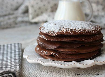 Pancakes cacao e cannella