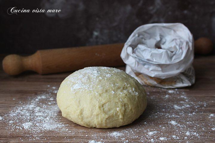 Pasta brisée all'olio extravergine d'oliva Cucina vista mare