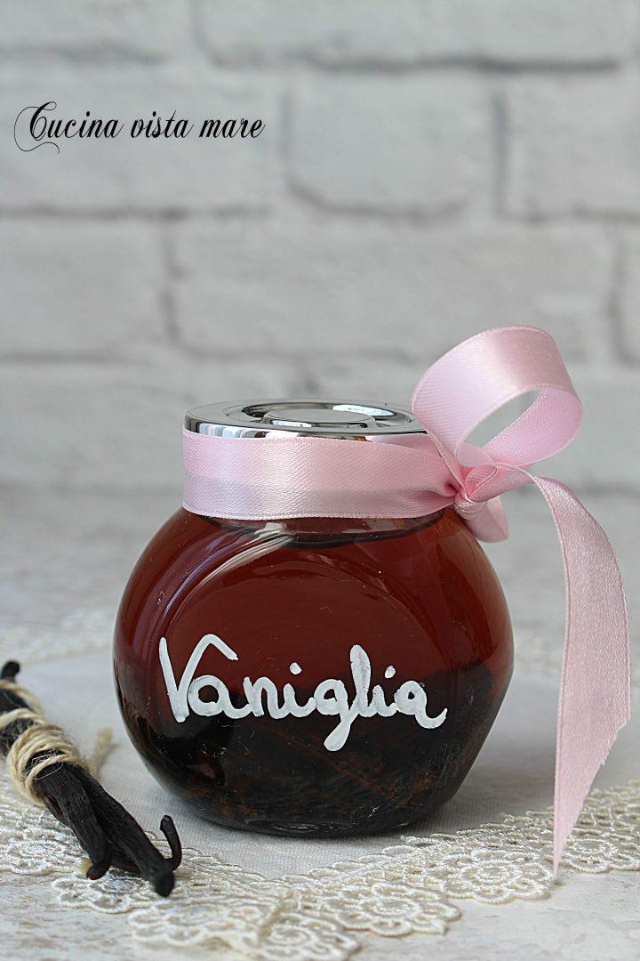 Estratto di vaniglia Cucina vista mare