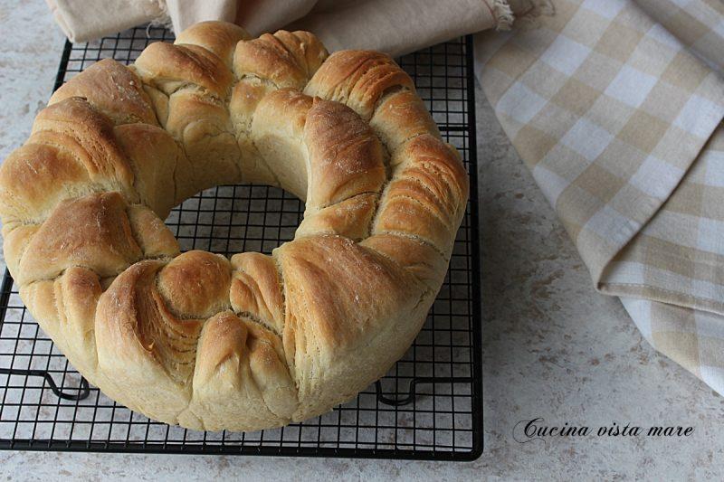 Pane sfogliato nel fornetto Versilia