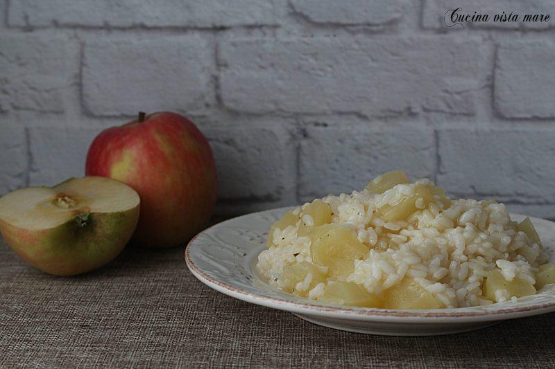 Risotto con le mele