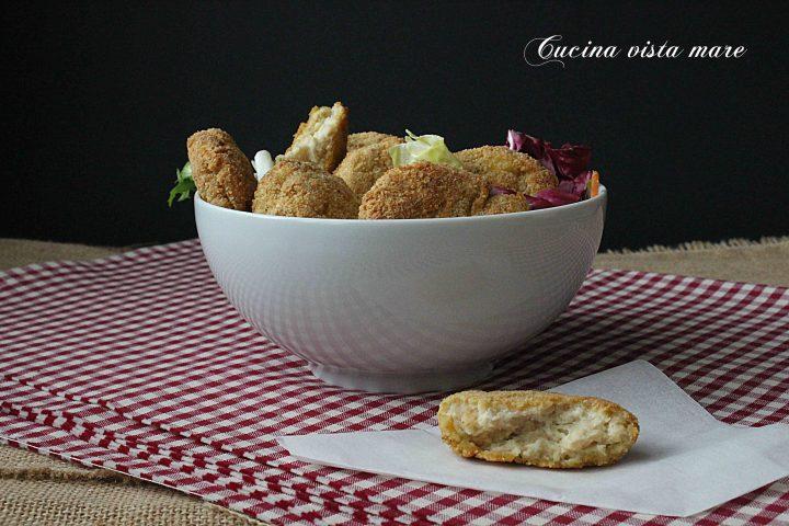 Nuggets di pollo Cucina vista mare