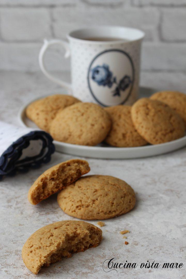 Biscotti secchi al limone Cucina vista mare