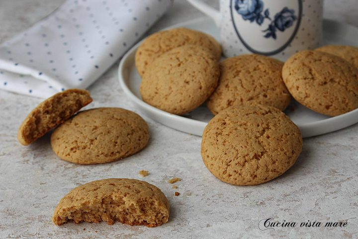 Biscotti Secchi Al Limone