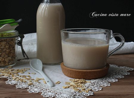 Latte di avena fatto in casa