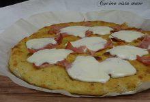 Pizza di patate stracchino e cotto