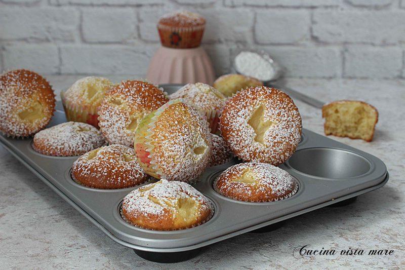 Muffin ananas e cocco