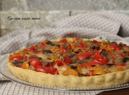 Torta salata alla mediterranea