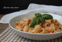 Pasta al pesto di pomodori freschi