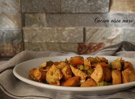 Pollo al curry nella slow cooker