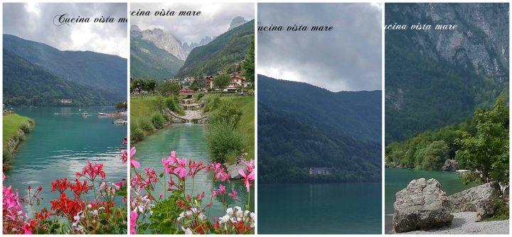 Le mie vacanze in Trentino Alto Adige Cucina vista mare