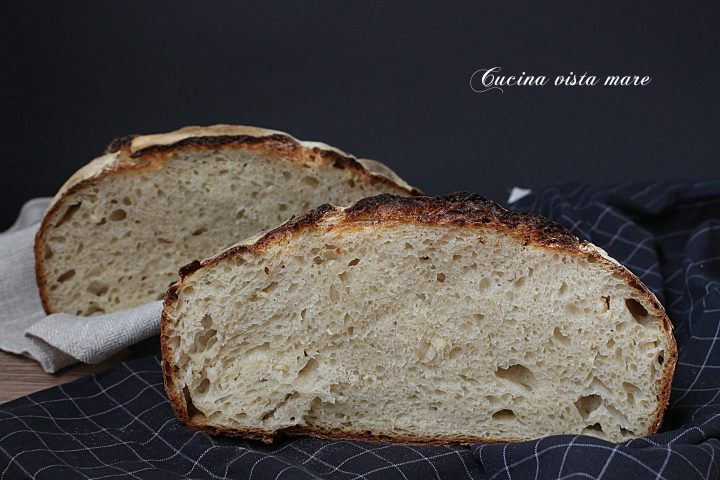 Pane alle patate Cucina vista mare