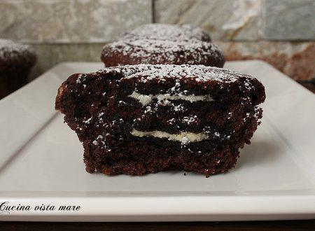 Muffin Oreo al cioccolato