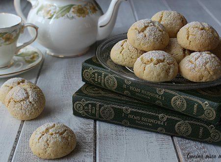 Biscotti vaniglia e limone