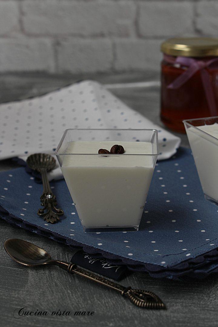 Crema di ricotta al miele Cucina vista mare