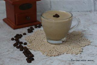 Crema pasticcera al caffè Cucina vista mare