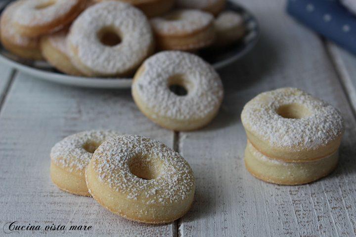 Biscotti alla panna Cucina vista mare