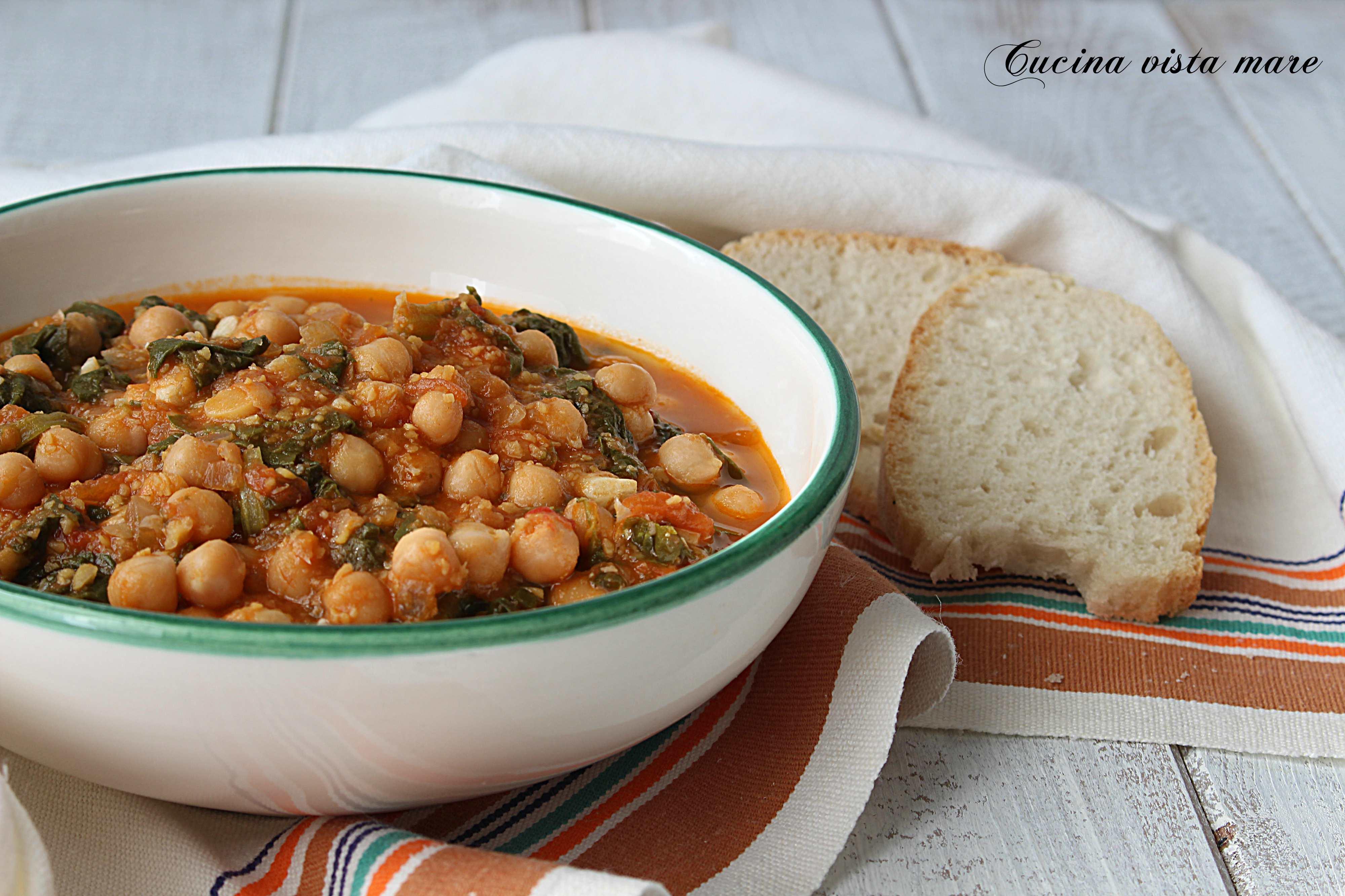 Cacciucco di ceci - Cucina vegetariana ricette ...