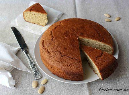 Torta mandorle e vaniglia