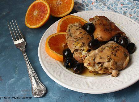 Pollo con arancia e olive nella slow cooker