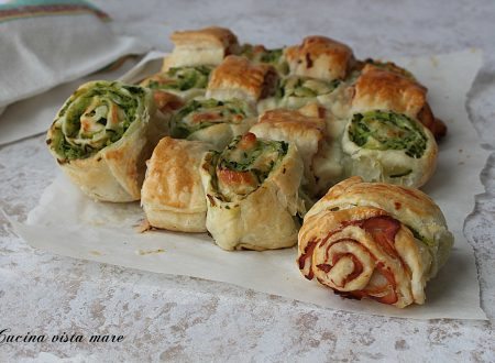 Torta salata prosciutto cotto e zucchine