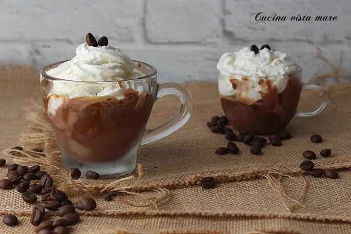 Affogato al caffè Cucina vista mare