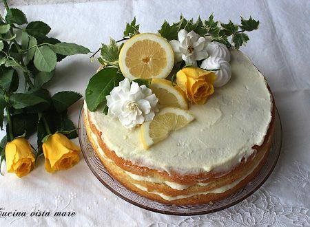 Naked cake al limoncello