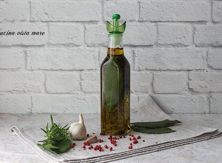 Olio aromatizzato per carne