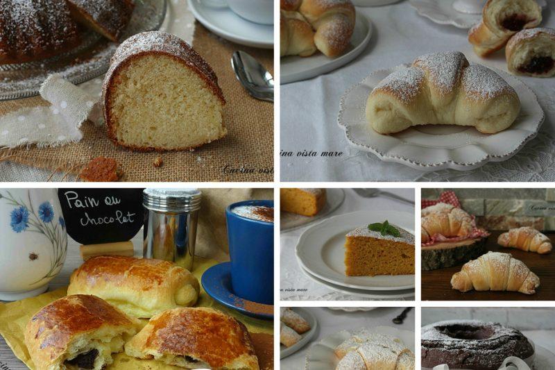 Raccolta dolci da colazione