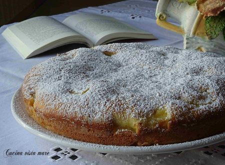 Torta ricotta e ananas