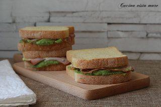 Toast arista e crema di broccoli Cucina vista mare