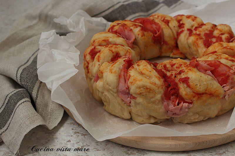 Ciambella di pizza nel fornetto Versilia