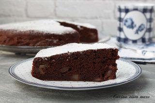 Torta pere cioccolato e caffè Cucina vista mare