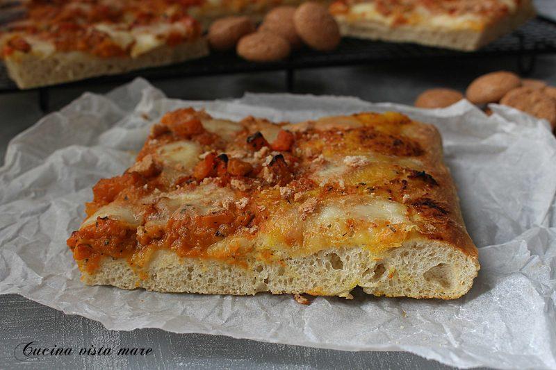 Pizza zucca e amaretti