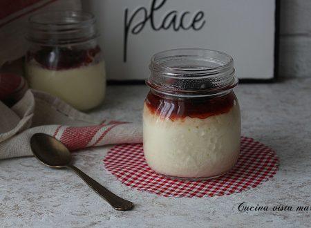 Cheesecake nel vasetto
