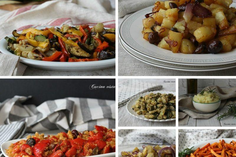 Contorni sfiziosi raccolta di ricette