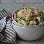 Cous cous con verdure e mozzarella